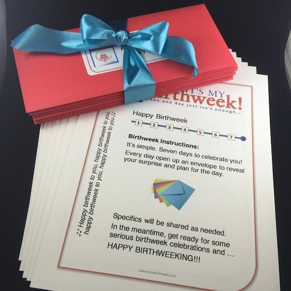 Classic Delivery Birthweek Celebration Birthday Gift