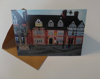 The Wheatsheaf - Greeting Card with Envelope in Cellophane Wrapping