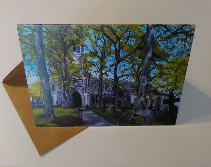 Sandbach Church - Greeting Card with Envelope in Cellophane Wrapping