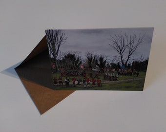 Battle of Nantwich - Greeting Card with Envelope in Cellophane Wrapping