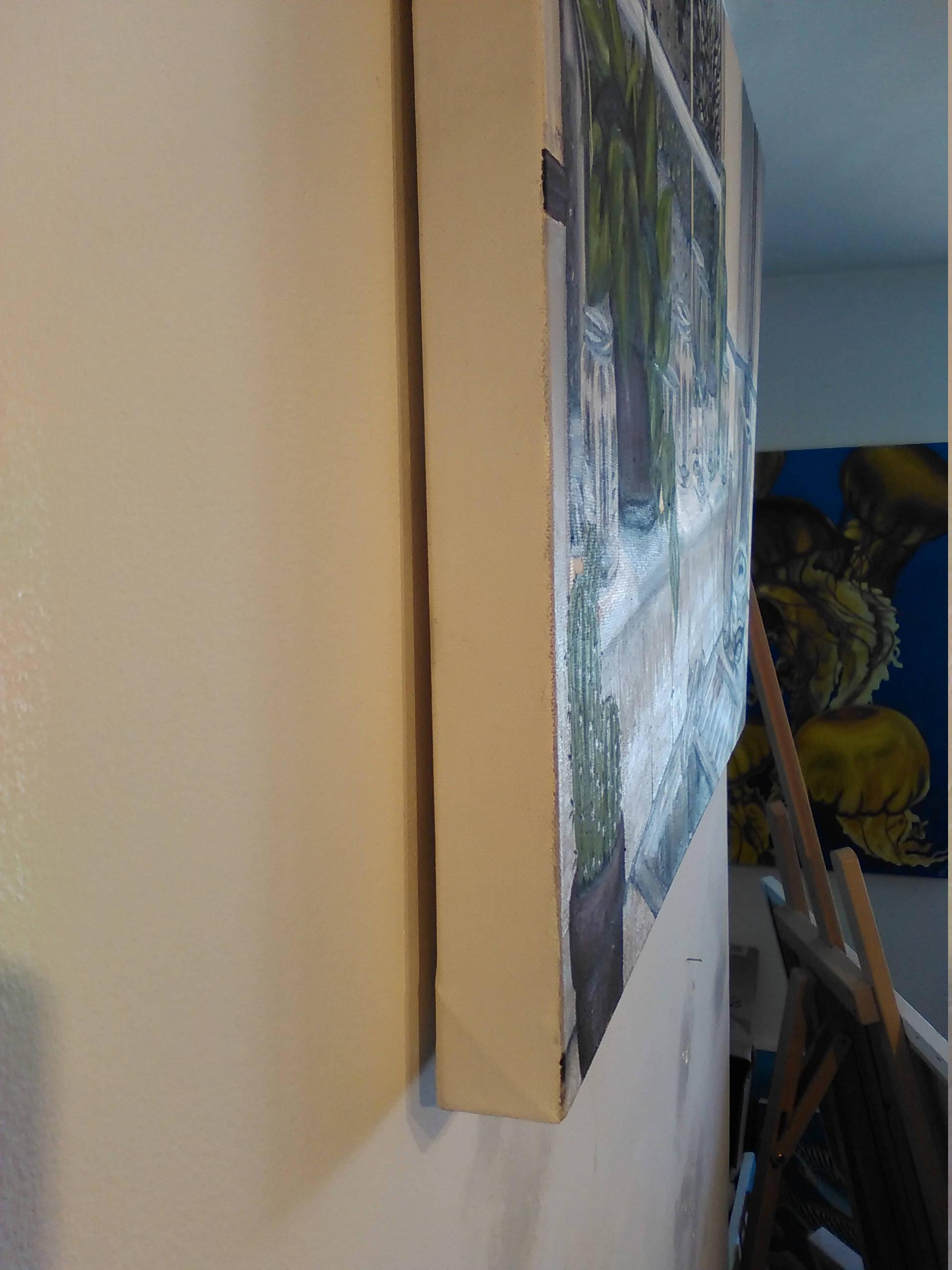 Kitchen Window Scene Art Painting