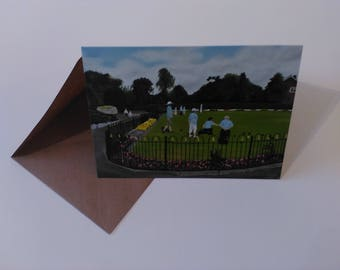 Sandbach Park - Greeting Card with Envelope in Cellophane Wrapping