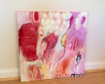 Original Abstract Art on Canvas, modern art, modern home decor, wall art