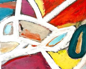 Original Abstract Art on Canvas, modern decor, contemporary art