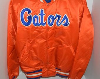 cc60e0274 Vintage NCAA UF Florida Gators Orange Starter Jacket Adult Large Made In USA