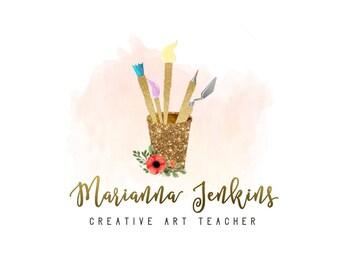 Brush Art Logo Design