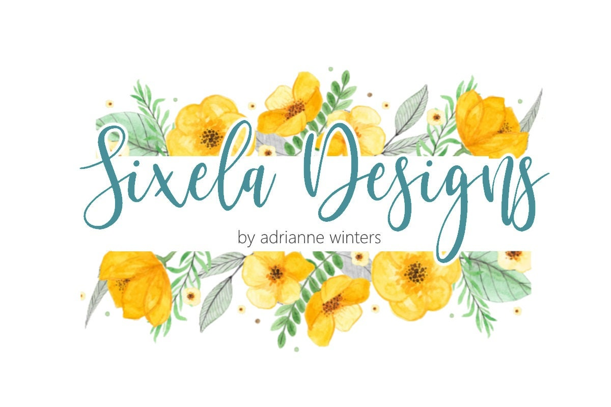 Yellow Floral Logo Green Yellow Logo Yellow Flowers Nature Etsy