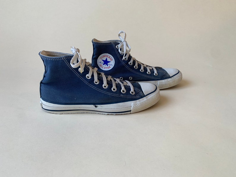 Made in USA 7.5 blu Chuck Taylor di Converse 1990 D2hVBGSI