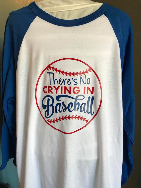 be9c5f89f There's No Crying in Baseball | Etsy