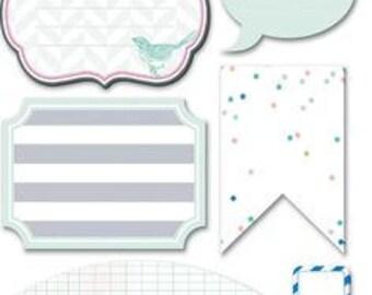 Heidi Swapp | Embellishments | 8 Piece | HS01065
