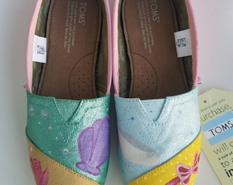 Princess Painted Shoes