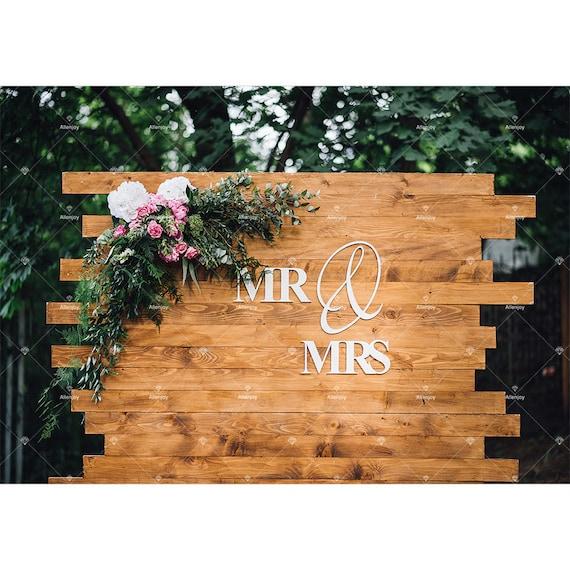 Wedding Backdrop Wood Rustic Wedding Photography