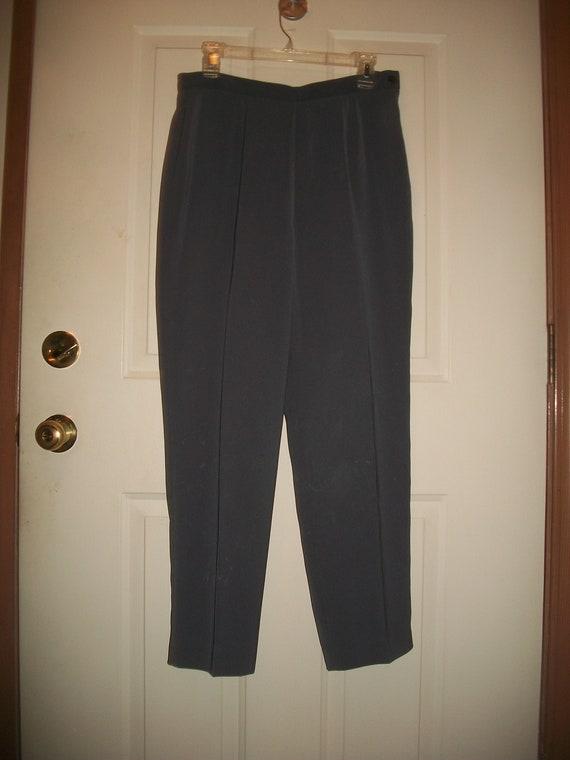 Vintage 80's, 90's Gray Pant Suit  Size 8, Vintag… - image 2