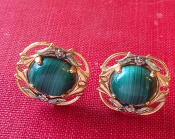 Vintage Earrings Marked 1/20 12KG, Gold Fill