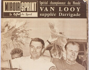 French sports magazine - Miroir Sprint 16 August 1960
