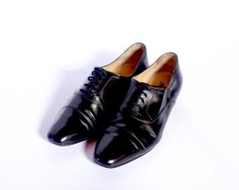a162131d617e7 Celine Derby lace up shoes UK 3