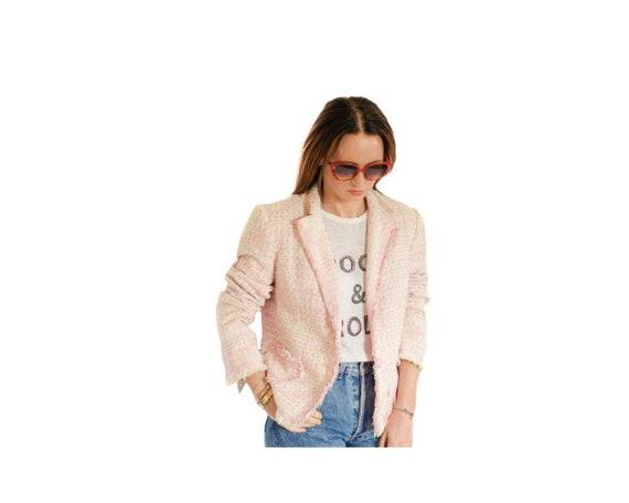 Vintage BIBA tweed boucle jacket UK 10 / 12 (EU 38