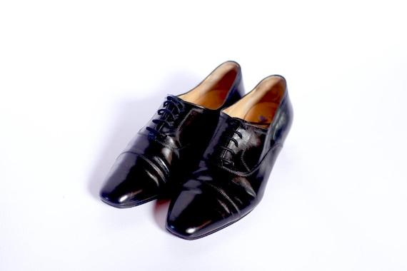 Celine Derby lace up shoes UK 3 | Etsy