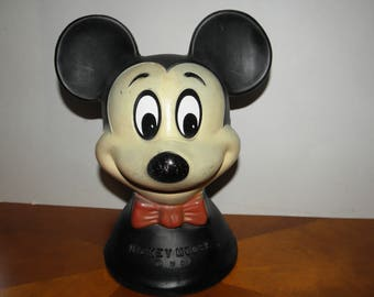 Mickey Mouse 10inch Plastic Bank