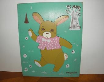 Rabbit Wooden Puzzle