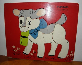 Hungry Kid Wooden Puzzle