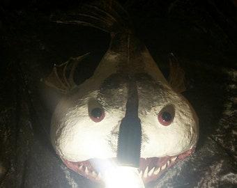 Fisherman Fish monkfish with E14 LED lamp