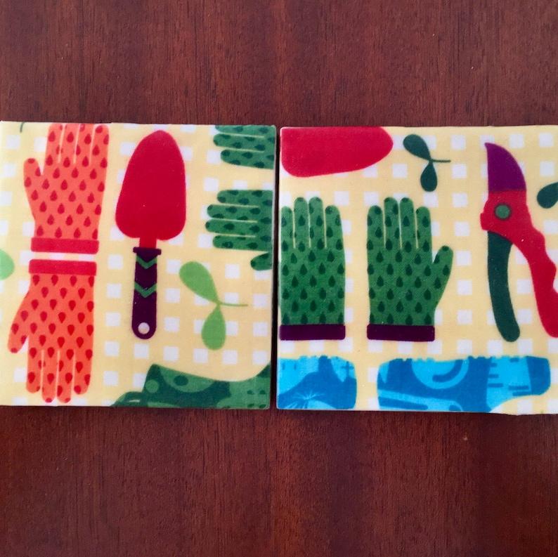 A Contemporary Touch for Your Porch or Patio Garden Coasters