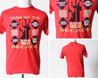 4a4590de Vintage 49ers | Etsy