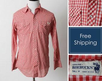 3ff6a98c4 Sears vintage shirt | Etsy