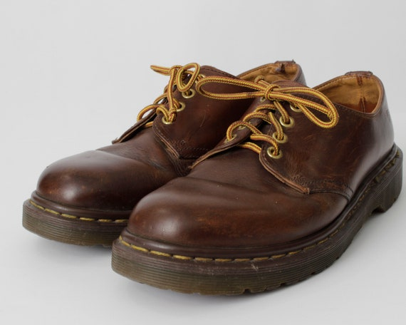 a468bfd5bb33b Vintage Dr Martens Shoes Doc Size 7.5 Men's 9 Women's Brown 1561 / 59k - US  7 9 Martin Made in England