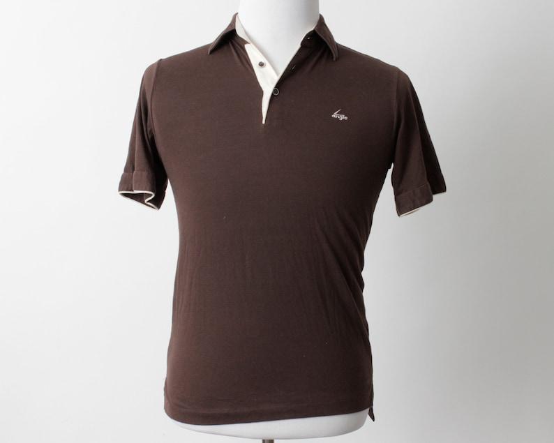 Vintage Men/'s Bowling Shirt Angle AMF Bowl Short Sleeve 70/'s Retro Small S