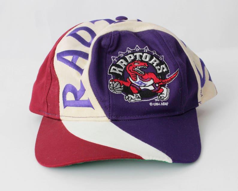 d41ec31c ... baca9bfa6d4399 Vintage Toronto Raptors Snapback Snap Back Basketball  NBA | Etsy