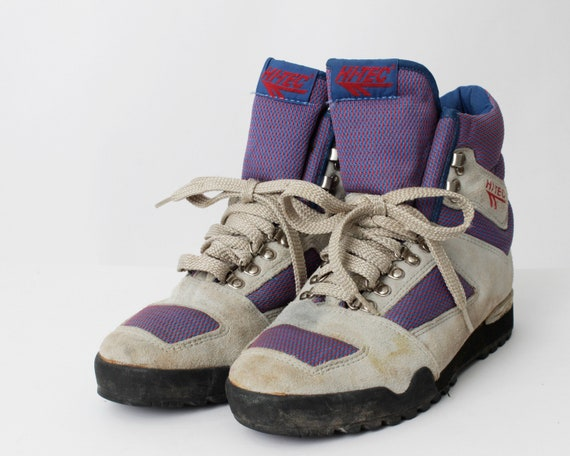 Vintage Women s Hiking Boots Hi Tec Hi-Tec High Top 80s  f3d90d88d