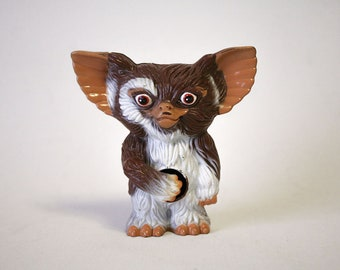 Vintage 1984 Gremlins Gizmo Mogwai Arrow LJN Gumball Machine Dispenser (Collector's Item, plastic, out of the original packaging)