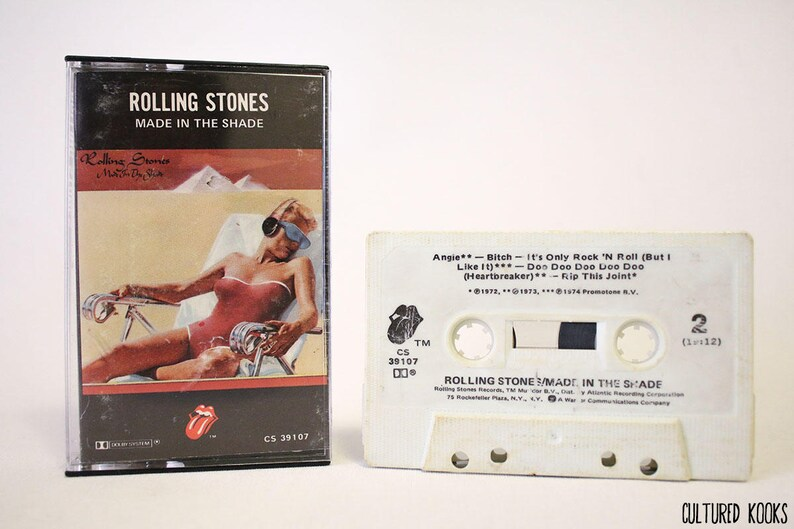 Rolling Stones Made In the Shade Cassette Tape CS 39107 (1977, Rolling  Stones Records)