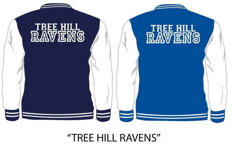 various colors e8127 aa74c One Tree Hill Ravens Basketball Varsity Jacket