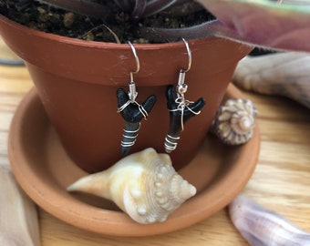 Shark Teeth Earrings