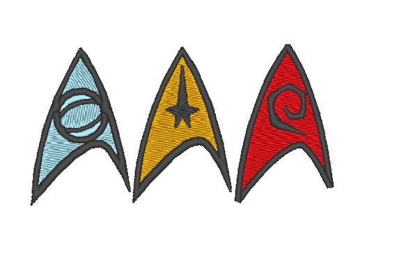 Star Trek Original Series Medical Operations Insignia Uniform Iron On Patch