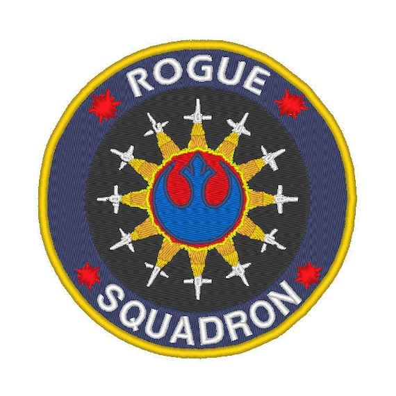 Star Wars Rogue Squadron Embroidered Patch new
