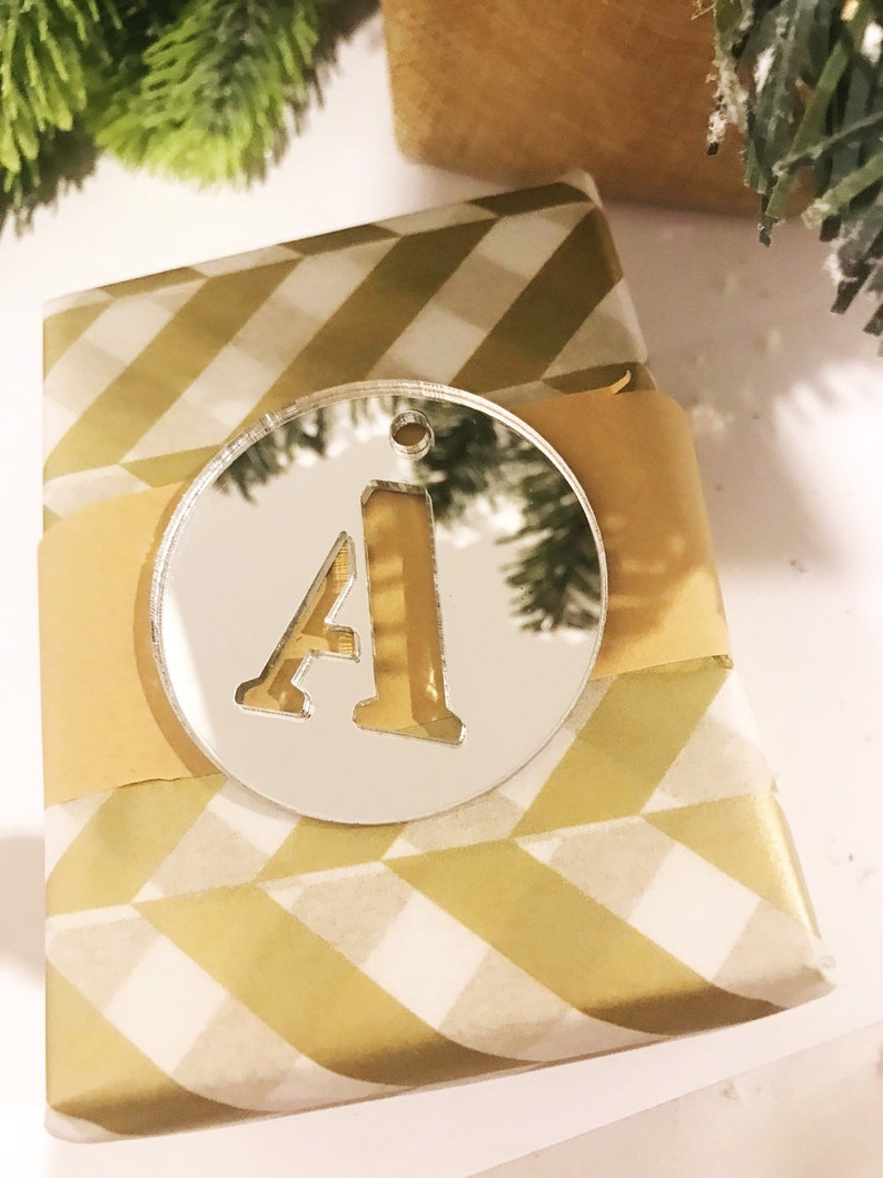 5 x Personalised Gift TagAcrylic gift tagpersonalised present tagGift tagsChristmas gift tagEngraved gift tagChristmas tagcustom gift