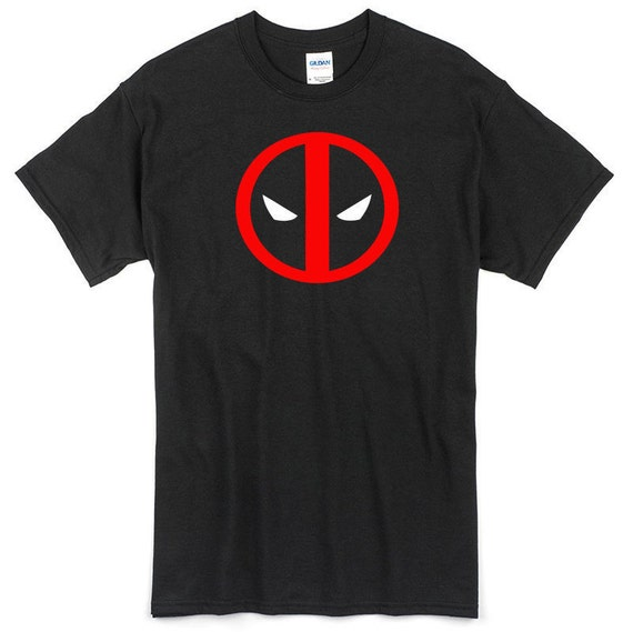 Deadpool Unicorn Camiseta Negro Z044a