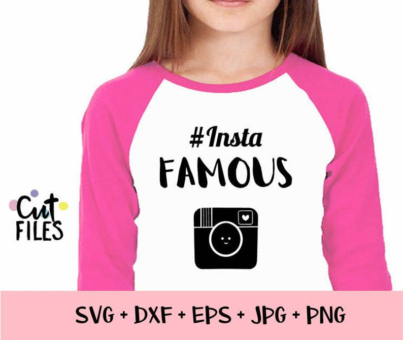Insta Famous svg, Famous on Svg, SALE SVG, Social Media svg,Hashtag svg  File, Instagram Svg, commercial use,Cutting File,Mom Life, Brand Rep