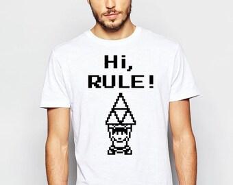 New Colors - Hi Rule - Link - Zelda - Video Game - Nintendo - Kids TV Show - T Shirt