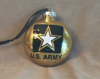 US Army Disc Ornament