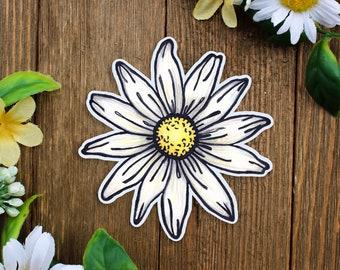 Daisy Sticker | Daisy Decal | Daisy Car Sticker | Daisy Car Decal | Daisy Gift | Daisies Sticker | Daisy Illustration | Wild Daisy Sticker