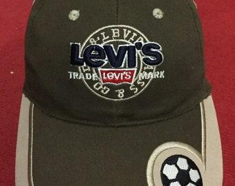 7538a3b35d2 Vintage Snapback Cap Levis USA