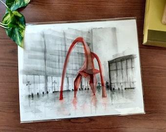 """Chicago Calder - """"Flamingo"""" Giclee Print"""