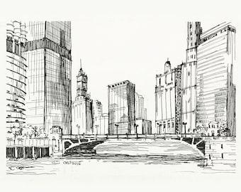 State Street Bridge Fine Art Print