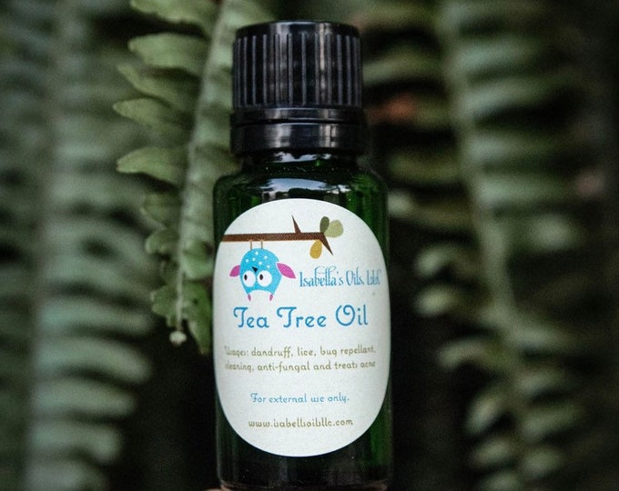 Tea Tree Oil (Melaleuca) 100% Therapeutic Grade essential oil