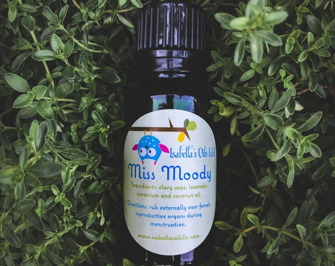 Miss Moody an Essential Oil Blend